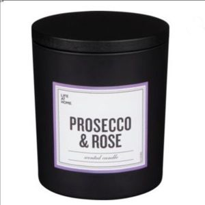 $10 Add On New Prosecco Rose unique scented candle